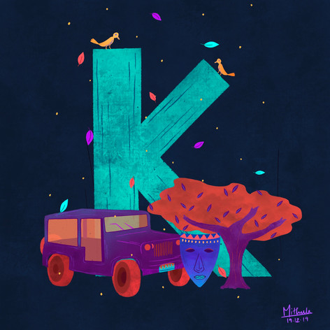 K for Kenya