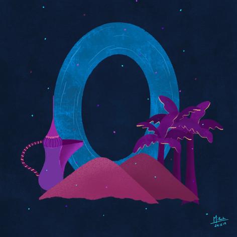 O for Oman