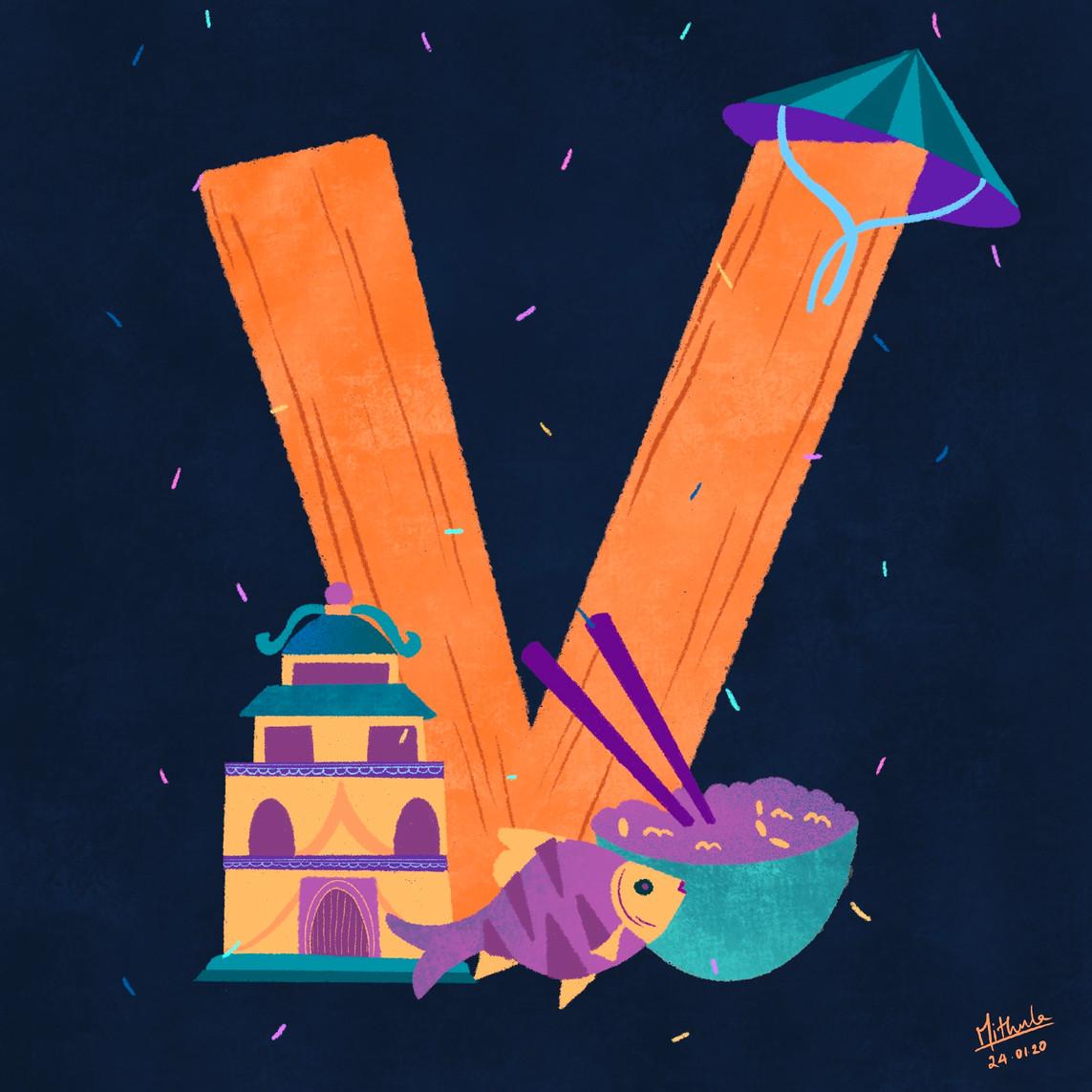 V for Vietnam