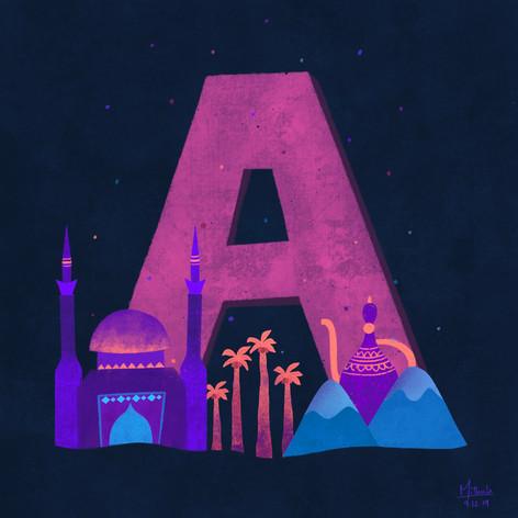 A for Azerbaijan