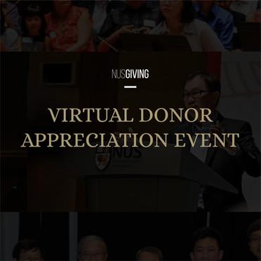 NUS GIVING Event