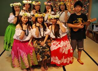 フラダンスショー aloha!