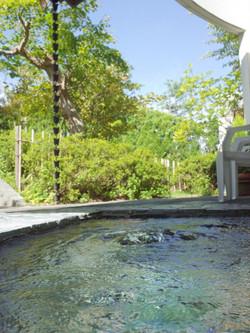 和風風呂の露天風呂