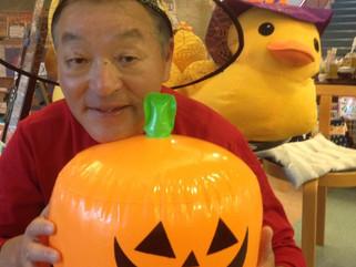 ハロウィンのかぼちゃ探し