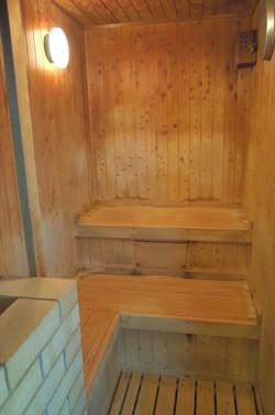 和風風呂のサウナ
