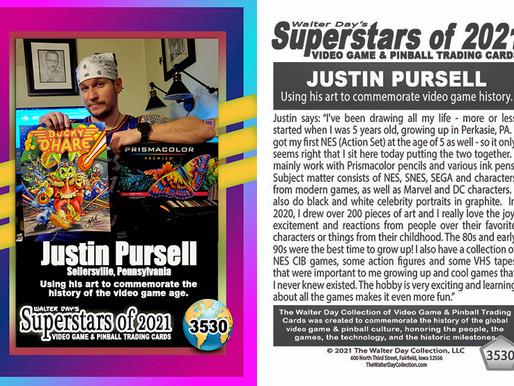 Video Game Trading Card Spotlight - Justin Pursell