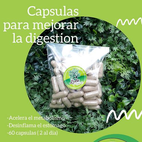 Cápsulas para mejorar la digestión