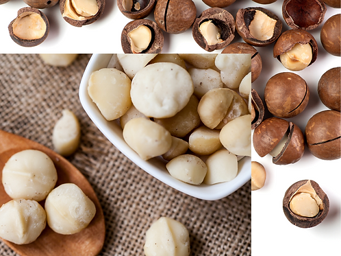 Nuez de Macadamia sin cascara 100 g.