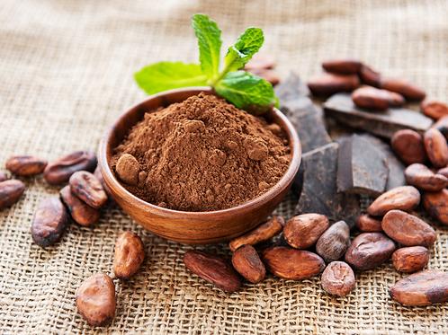 Cacao 100 % Puro, molido o figuras
