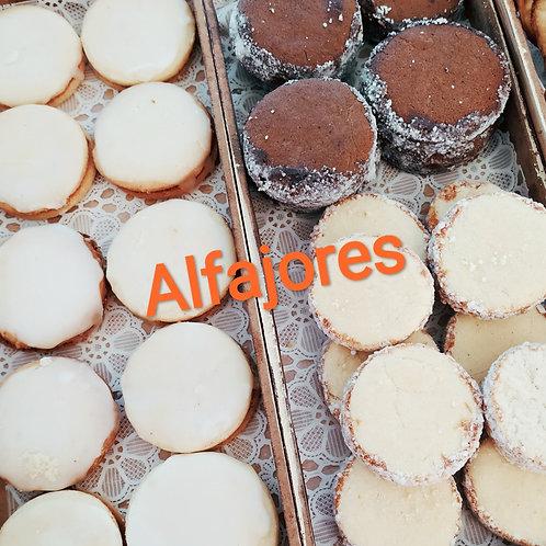 Alfajores de distintos sabores, 12 pz.