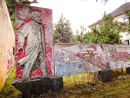 Wünsdorf, Haus der Offiziere, Lenin
