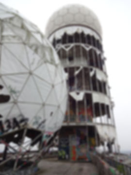Teufelsberg, Urban Exploring Berlin, spying station