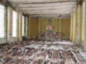 Krampnitz, Krampnitz sportshall, abandoned Nazi barracks in potsdam