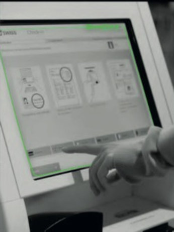 Antimicrobial Touch-Screen / Kiosks