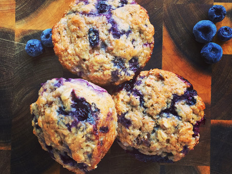 Healthy Blueberry and Banana Muffin recipe