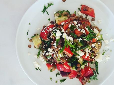 Fatigue fighting recipe - Mediterranean Salad