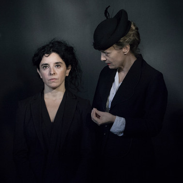 Maria Jose Bavio and Lucy Russell