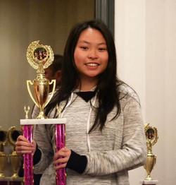 2017北美洲青少年赛 Queena Deng