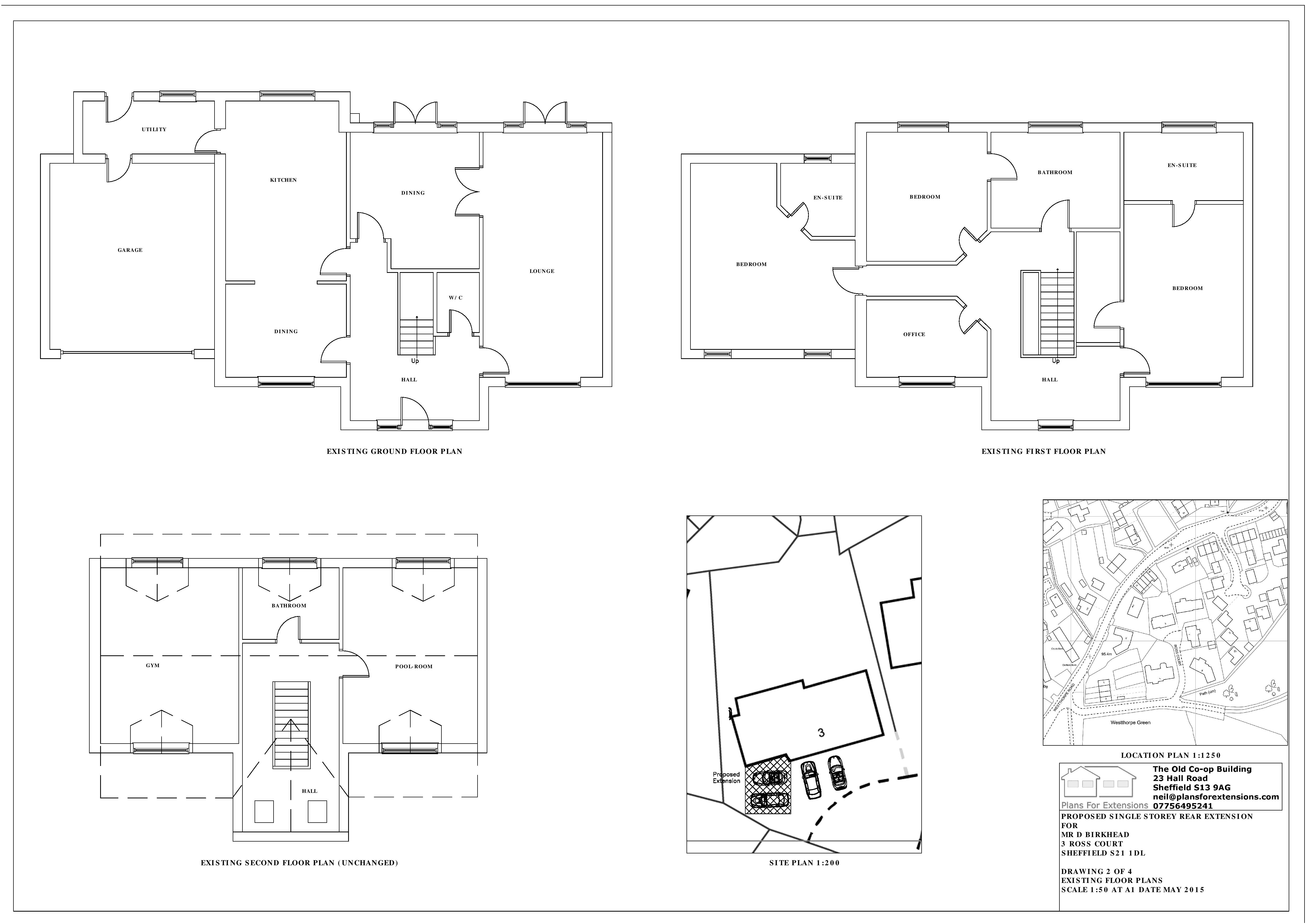 Plans - Existing Floor Plans