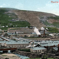 Pentre from the hills 1910