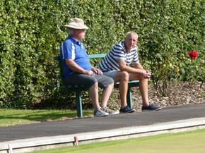 Gareth Richards & Ron Gilman, enjoy the Sun