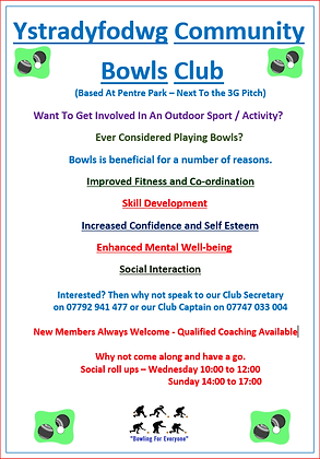 Bowls Poster - Ystradyfodwg Community.png