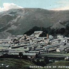 General view of Pentre circa 1900