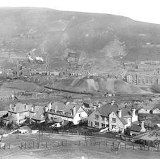 Pentre general view of 1918.