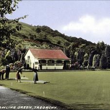 Pencelli bowling green. Date, believed to be last season.