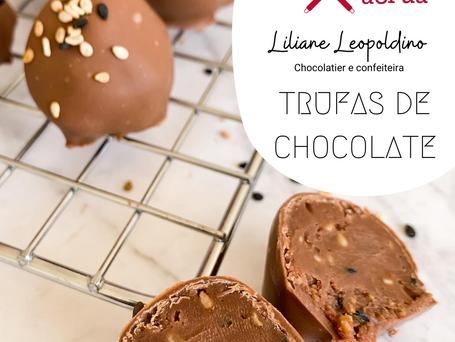Aprenda a Fazer Trufas de Chocolate