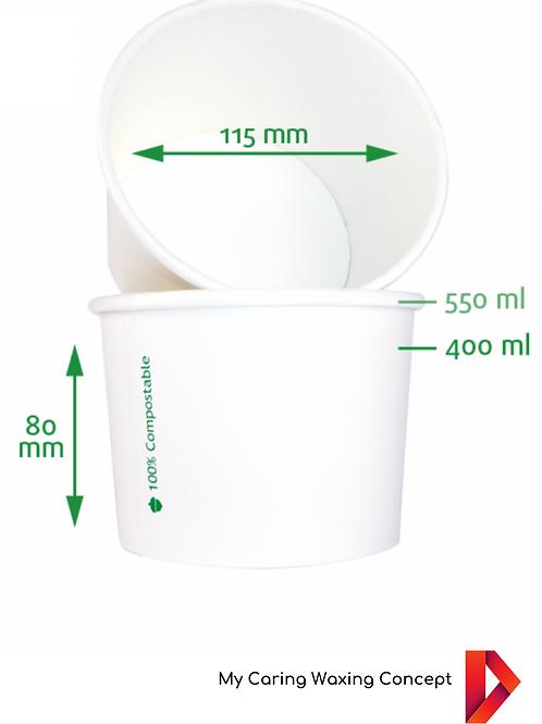 EINWEGBECHER 400 ml  - 6 X