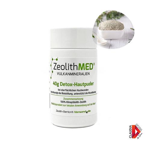 Zeolith MED® Detox-Hautpuder 40g Medizinprodukt