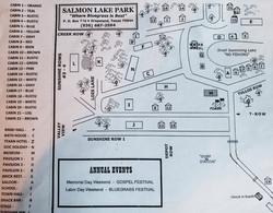 Map of Salmon Lake Park