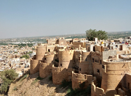 Wandering through the bygone ages.........Jaisalmer