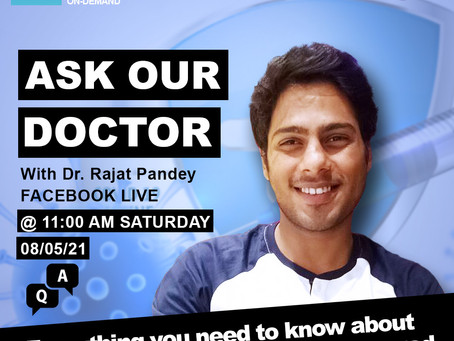 Dealing with Covid-19 - Dr. Rajat Pandey