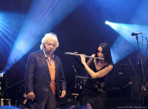 Bruno Lauzi, Koncert na meji