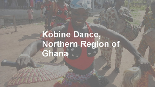 Kobine Dance from the Northern Region of Ghana