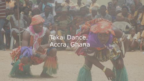 Takai Dance, Accra, Ghana