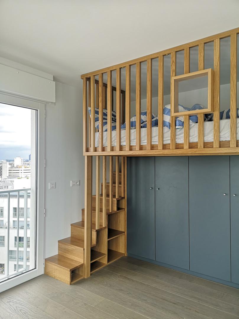 Rénovation chambre d'enfant