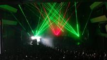 Kjørte laser i Olavshallen