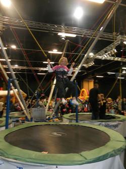 Mobil trampoline