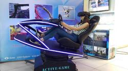 Bilsimulator med VR