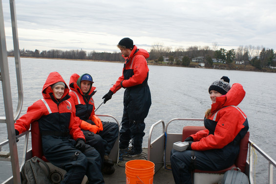 Dissolved Oxygen and Phosphorus Study on Muskrat Lake
