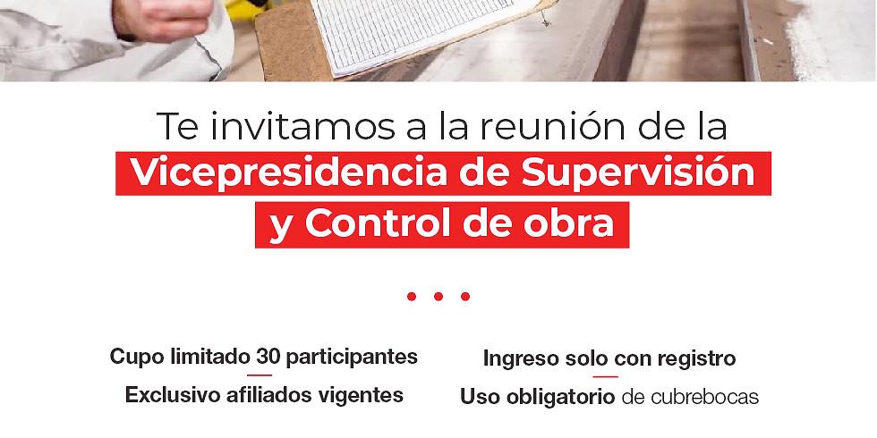 Vicepresidencia Supervisión y Control de Obra
