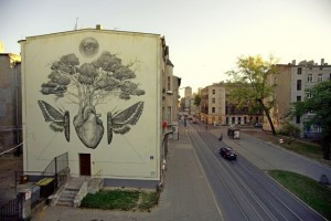 Mural Poljska