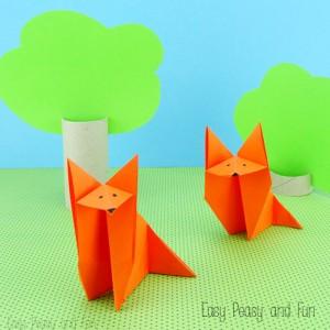 origami-lisica