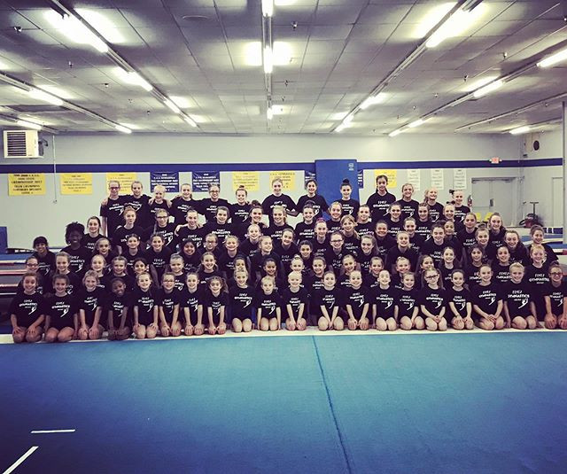 Great job to all of our gymnasts at Prep