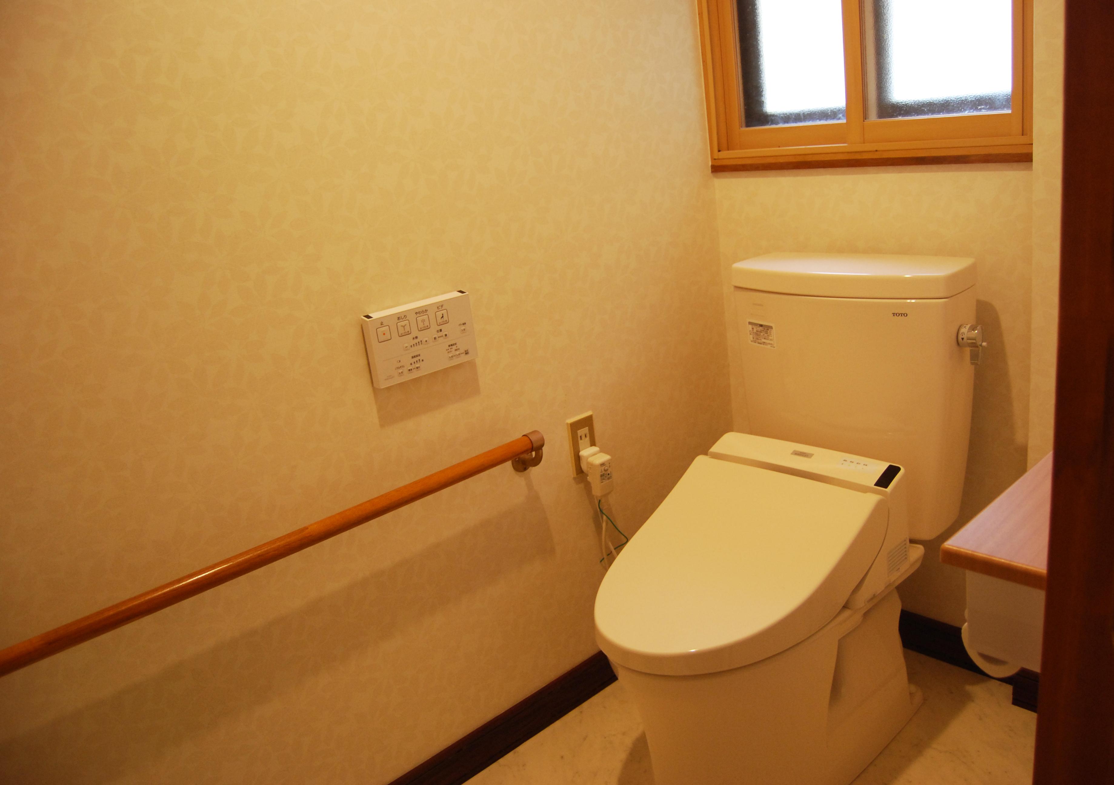 つづねの森ゲストハウス トイレ