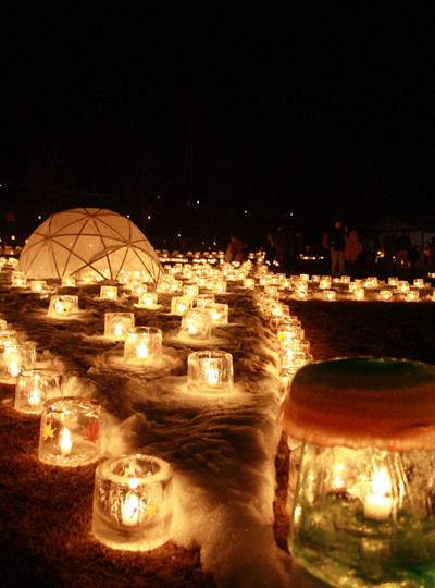 麻績村キャンドル祭り