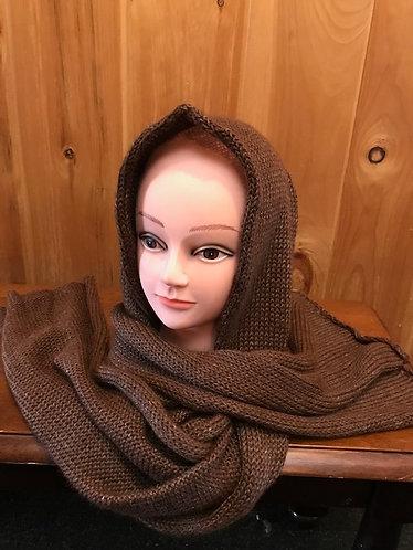 Alpaca Hoodie scarf